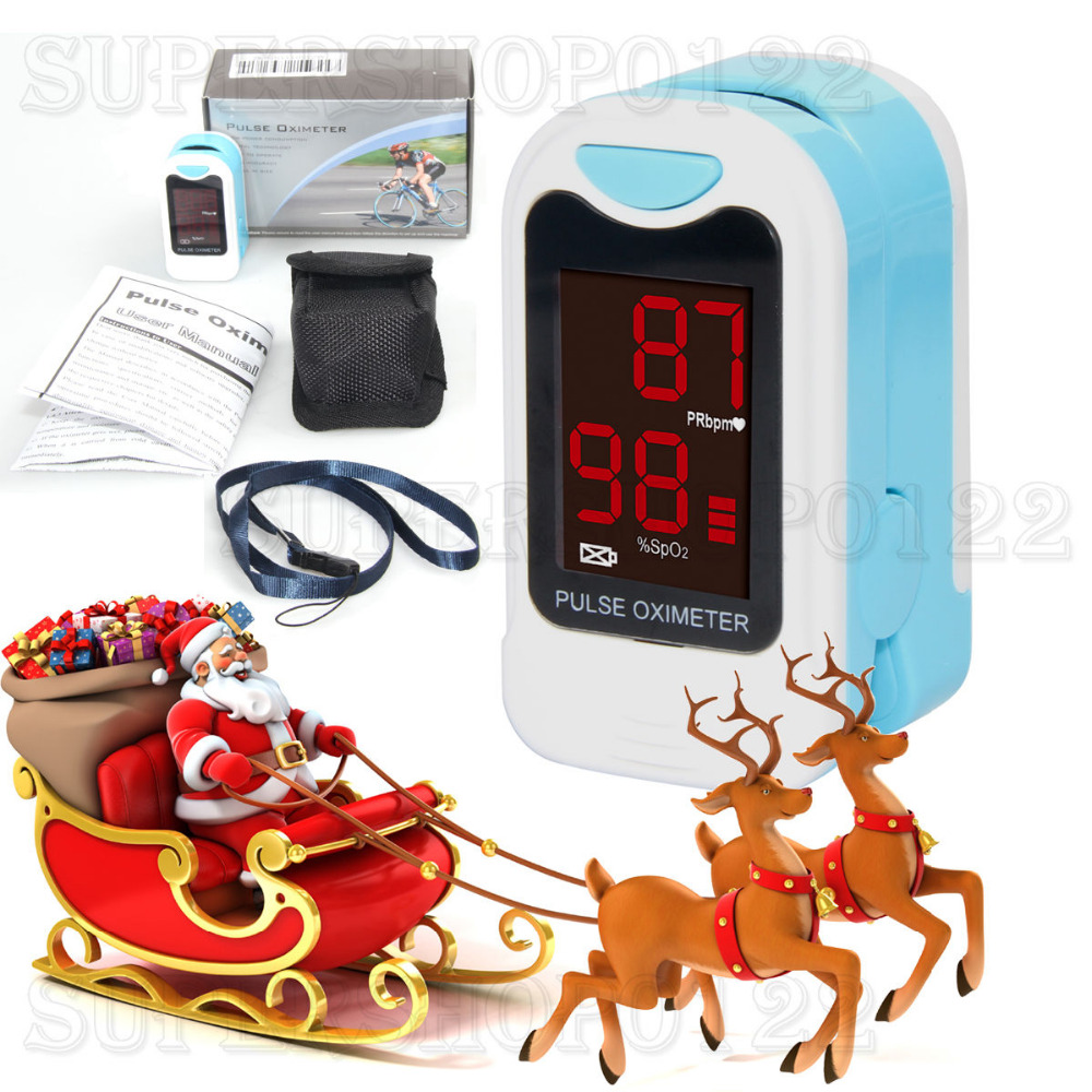 MS50M По-фин пулсов оксиметър, монитор за кислород, SPO2, PR, HR, Коледен подарък