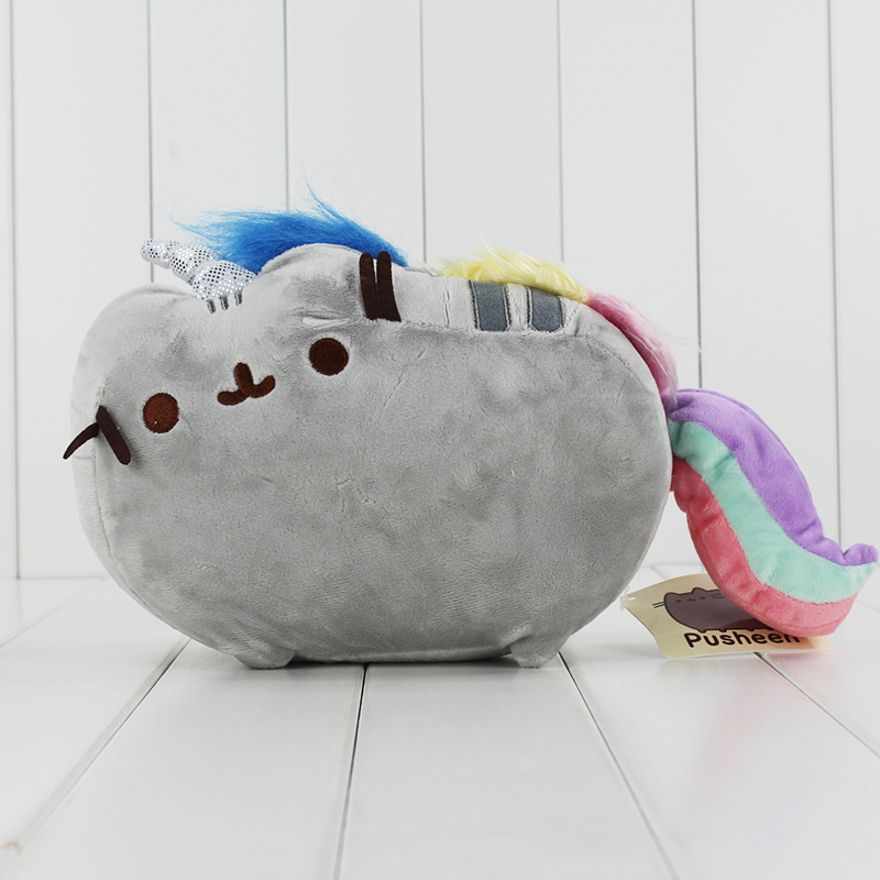 Cheap price 15cm Pusheen Cat Cookie Icecream Doughnut Cake Rainbow Dolls Stuffed plush Soft Animals font