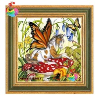diamond embroidery animals butterfly flore Kits for embroidery 5d diamond painting diamond pattern beadwork counted cross stitch