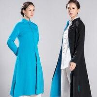 2018 новый продукт Реверсивный пальто тай чи одежды даосский Priest Robe кунг фу одежда