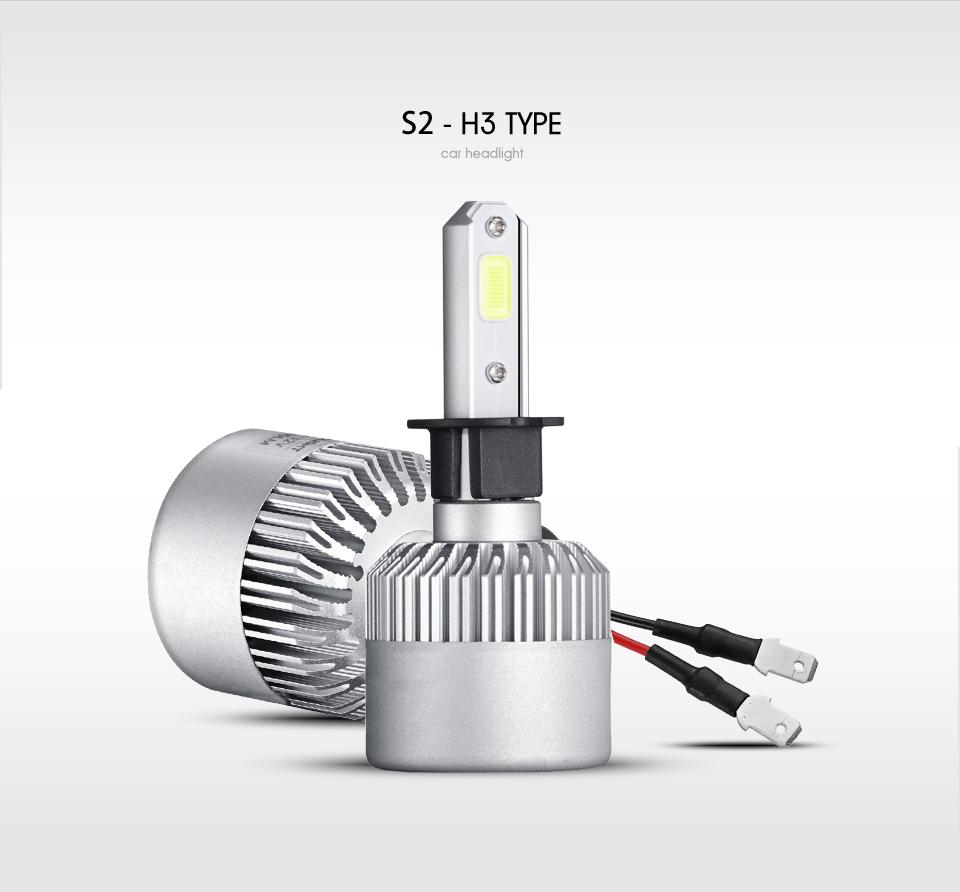 oslamp Н1 Н3 Н4 Н7 н11 н13, 9004 9005 9006 9007 9012 удара светодиодные фары автомобиля лампы привет-ло луч 72 вт 8000 лм 6500 к авто фары 12 в 24 в