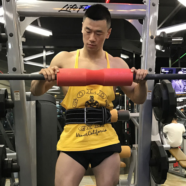 Lifting Barbell Sleeves for Neck and Shoulders Protection