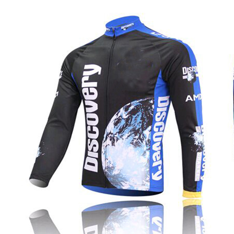 Cycling-Jerseys Discovery Long-Sleeves Bicycle-Clothing Bike Ciclismo Maillot Autumn