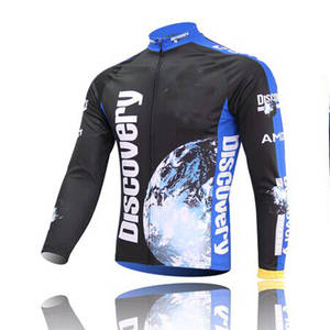 Discovery Long Sleeves Bicycle Clothing 2018 Spring Cycling Jerseys f0a270594