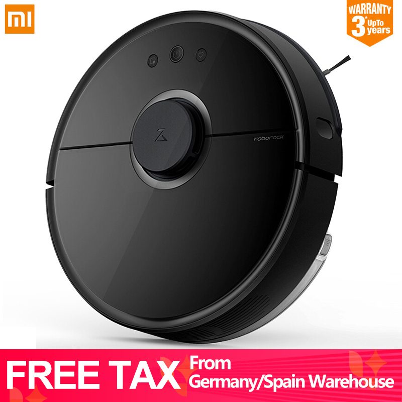 Original Xiaomi Robot Vacuum Cleaner 2 Roborock S55 S50 APP Control Dust Sterilize Smart Planned Sweeping and Wet Mopping [international version]2000pa original xiaomi s5 roborock vacuum cleaner 2nd robot 2 mopping smart control sweeping robot 2