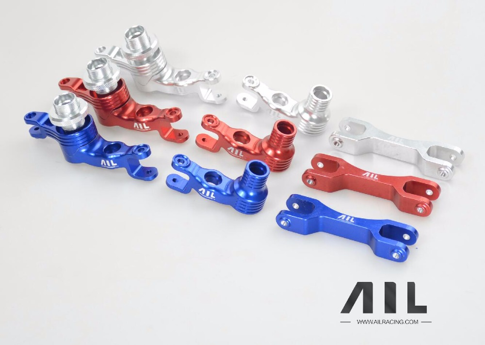 ALLRC 6061-t6 CNC Aluminum alloy Optional upgrade Metal steering assembly for traxxas X-xmaxx rc car partsALLRC 6061-t6 CNC Aluminum alloy Optional upgrade Metal steering assembly for traxxas X-xmaxx rc car parts
