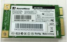 Ssea atacado 300 m novo frete grátis para azurewave rt2700e AW-NE766 mini cartão sem fio pci-e 802.11b/g/n