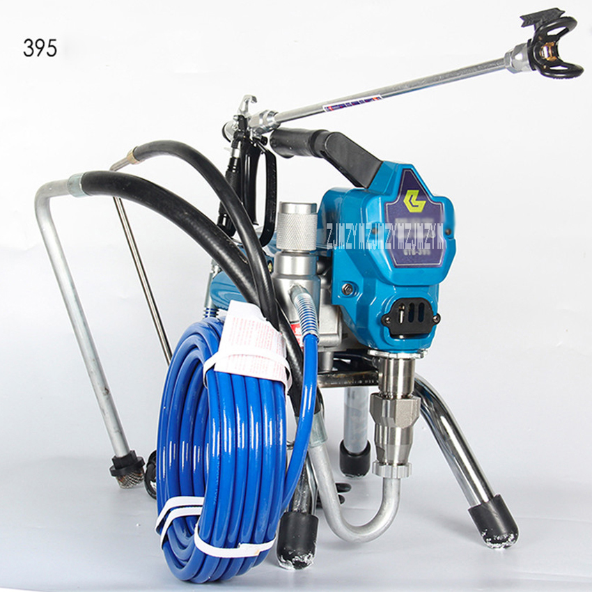High Pressure Airless Spraying Machine Home Paint Sprayer 1800W 2L/min with spray gun painting tool 395 495 595 painting machine