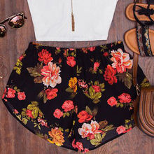 Floral Casual High Waist Flower Shorts Pants SE