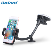 Cobao Long Arm Car Cell Phone Holder 360 Adjustable Universal Windshield Mobile Phone Holder For Meizu
