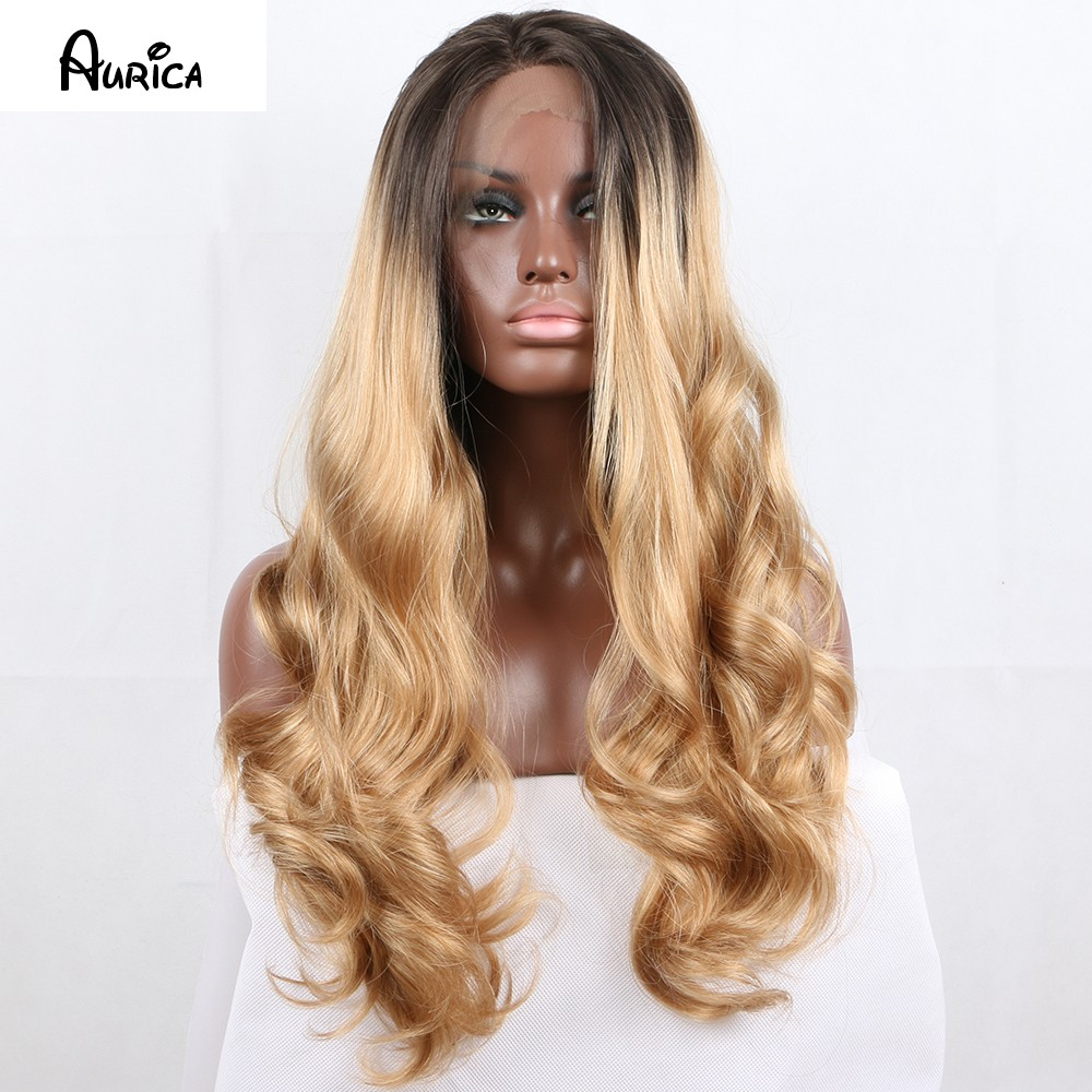 dark brown blonde aurica