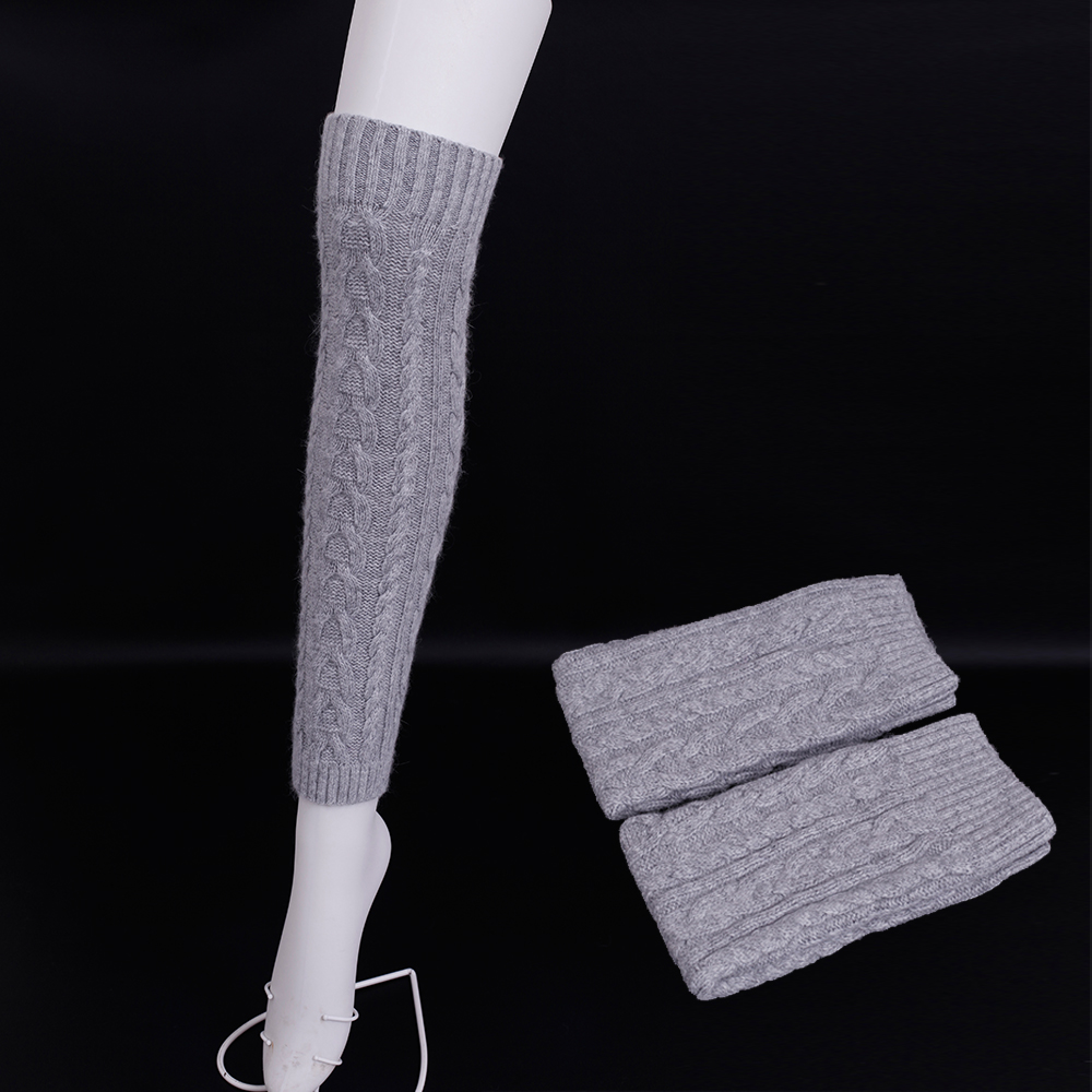 Winter High quality wool knitting Leg Warmers for women Winter Warm Soft Wool Knitted Leg Warmers Boot Socks Warmmer Leg Socks