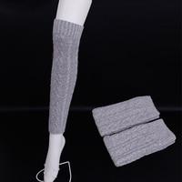 Winter High quality wool knitting Leg Warmers for women Winter Warm Soft Wool Knitted Leg Warmers Boot Socks Warmmer Leg Socks
