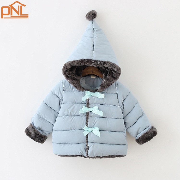 Children outerwear baby girls cotton Hooded coats Winter Jacket Kids Coat children s winter clothing