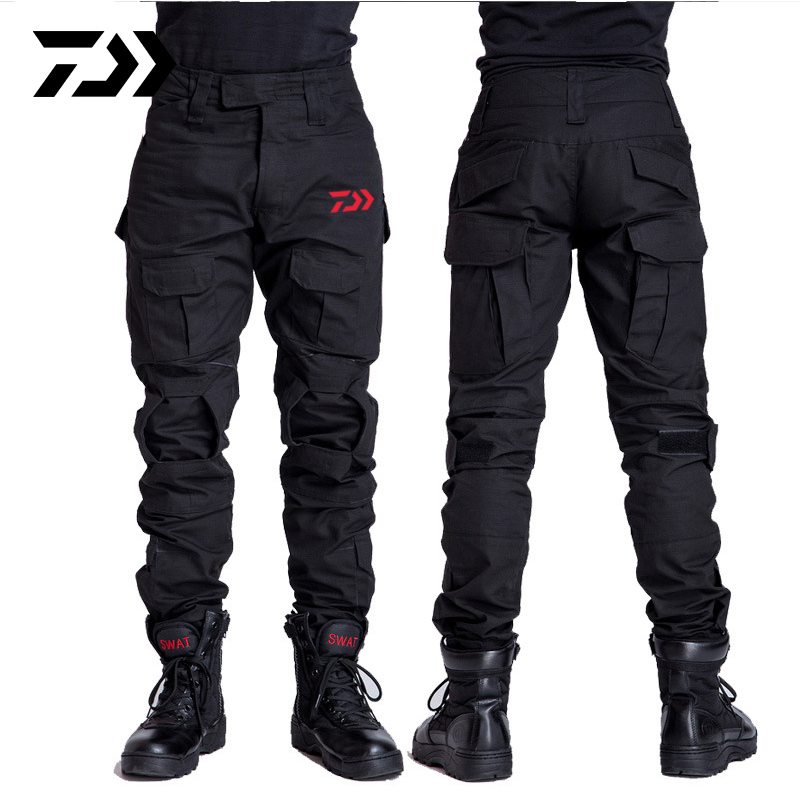 Daiwa Fishing Pants Outdoor Camping Hiking Winproof Men Trousers Python Breathable Quick Dry Print Camouflage Fishing