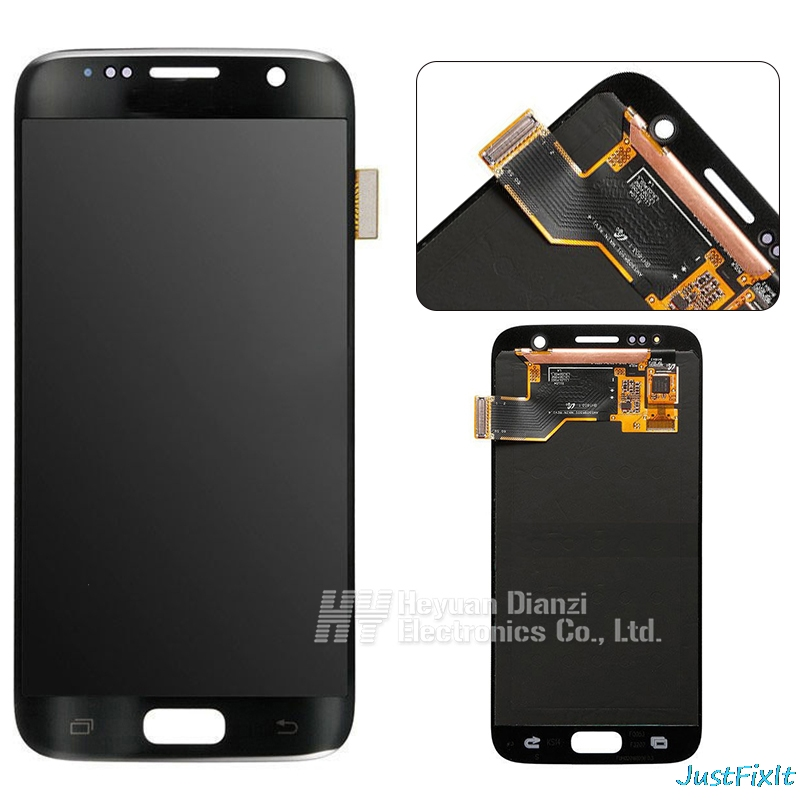 For SAMSUNG GALAXY S7 G930F G930 G930fd Burn in shadow LCD Display Touch Screen Digitizer Super