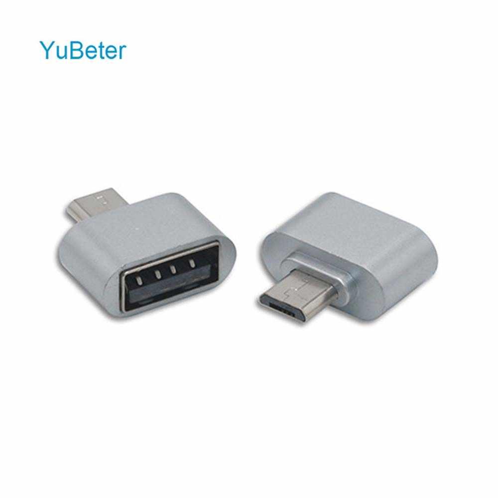 YuBeter Conversor USB para Micro USB OTG Cabo Adaptador para Tablet Android Teclado e Mouse Gamepad USB 2.0 Multifuncional U- disco