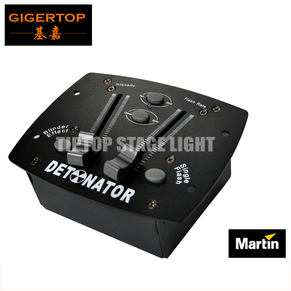Martin Verlichting Us 79 Freeshipping Martin Stroboscoop Controller Box Mini Size Blinder Effect Enkele Flash Kanalen Push Podium Verlichting Controller In