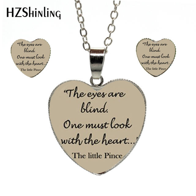 The Little Prince Quotes | 2018 New Fashion Heart Jewelry Set The Little Prince Quotes Photos