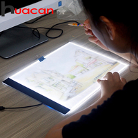 A4 LED Light Tablet Pad Dimmable Ultra Thin Apply To EU UK AU US USB Plug