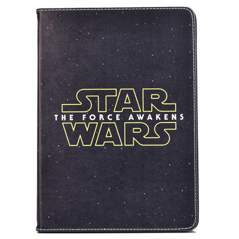 2016 New Case for Apple ipad mini 1 / 2 / 3 Flip stand Star Wars The force awakens prints tablet Cover shell coque para housing  2016 new tablet case for apple ipad 4 3 2 flip stand alice in wonderland