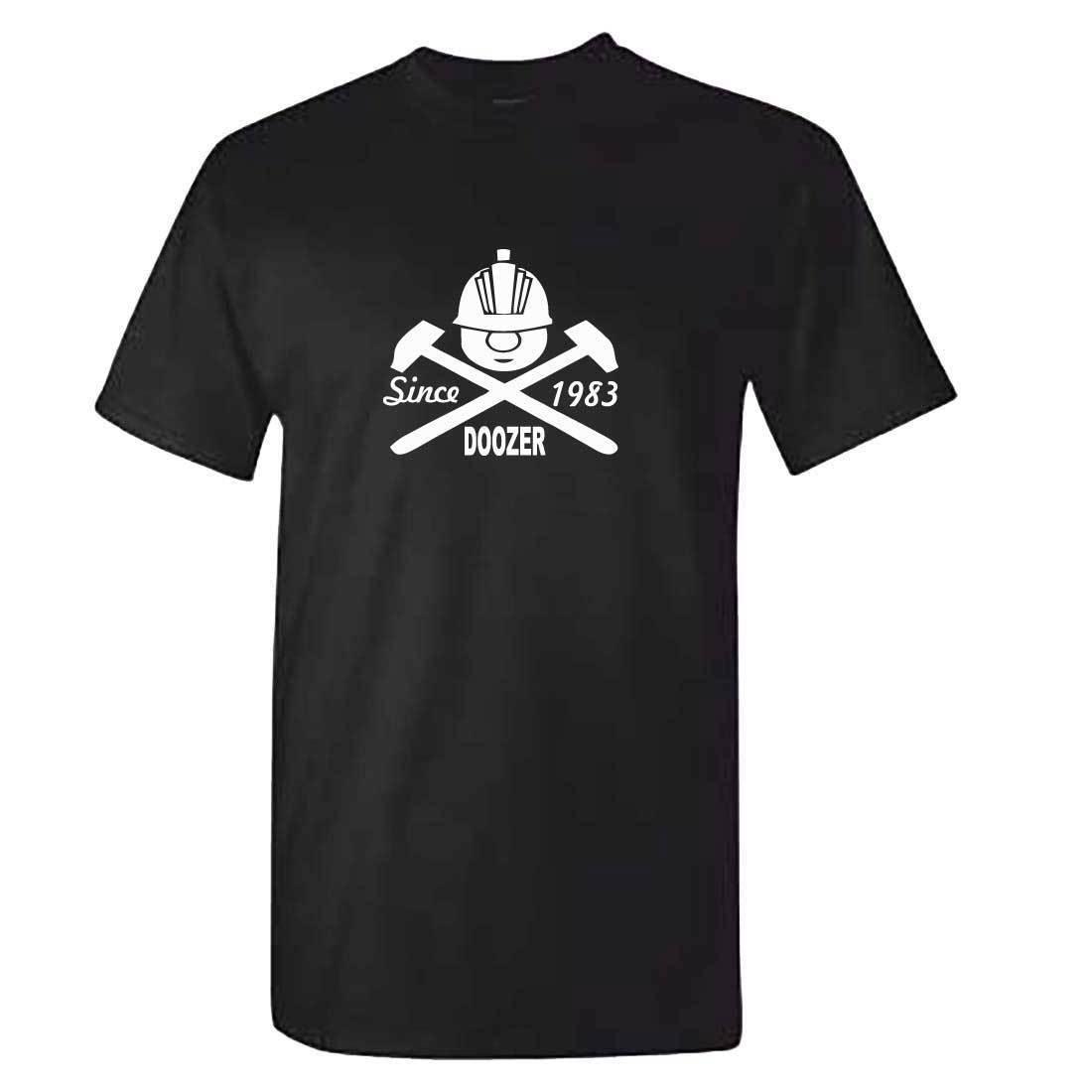 Mens Black Fraggle Rock TShirt - Retro 80s Childrens Cartoon Doozer Since 1983 Cool Casual pride t shirt men Unisex New Fashion