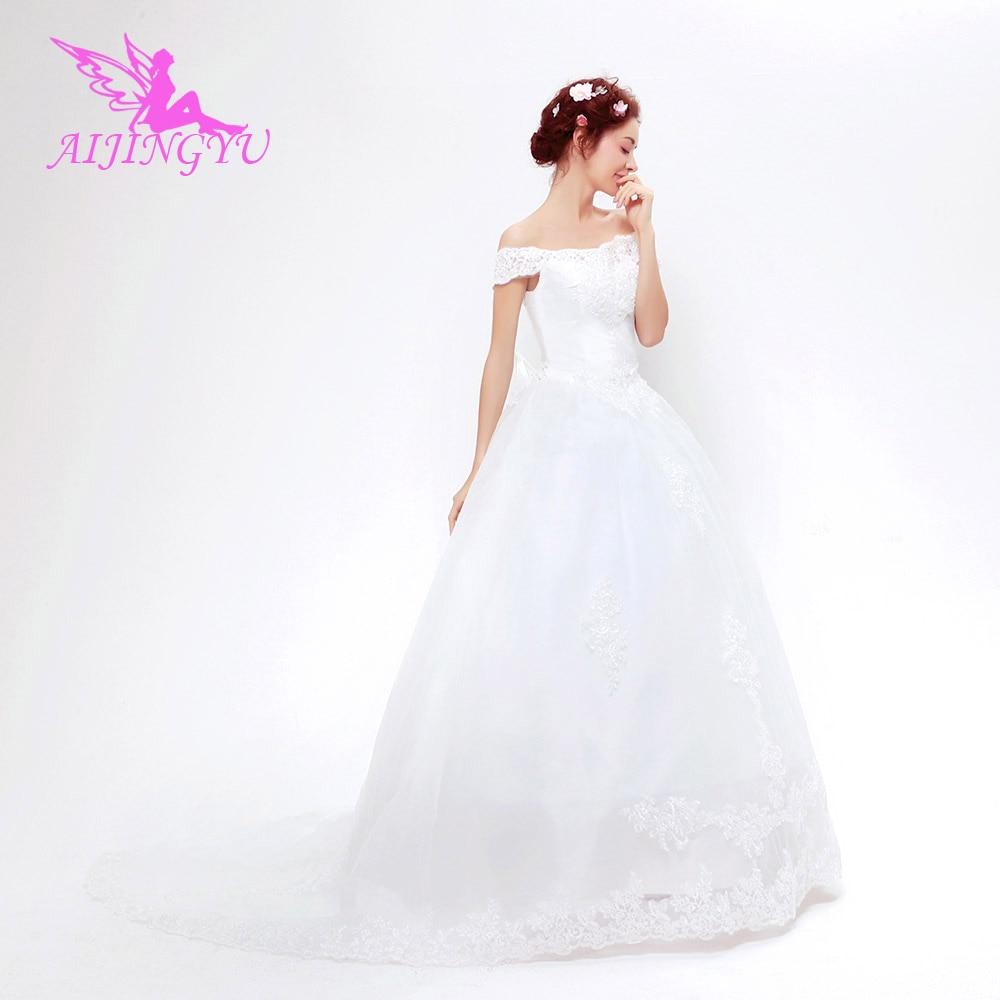 AIJINGYU 2018 New Free Shipping China Bridal Gowns Cheap