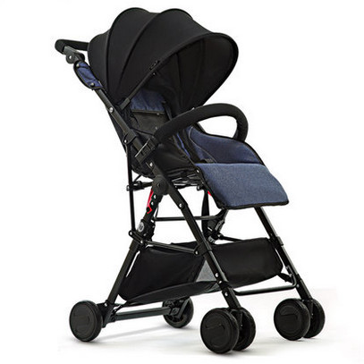 Lightweight stroller high landscape can sit lie stroller children's summer pocket portable baby stroller