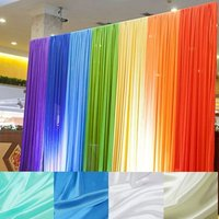 Polyester Satin Fabric For Lining Silk Pongee Curtain Decorative Lace Cloth Fabric Stage Background