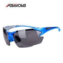 FARROVA Cycling Sunglasses TR90 UV400 Glasses Sports Fishing Cycling Riding Eyewear Eye Protection Ski Glasses Lunette Cyclisme