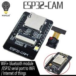 ESP32-CAM ESP-32S Wi-fi Módulo serial para WiFi ESP32 ESP32 Placa de Desenvolvimento 5 V Bluetooth com OV2640 Módulo Da Câmera CAM