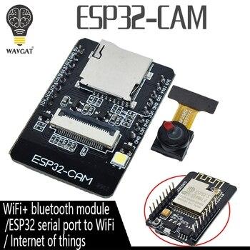 ESP32-CAM ESP-32S WiFi Module ESP32 serial to WiFi ESP32 CAM Development Board 5V Bluetooth with OV2640 Camera Module