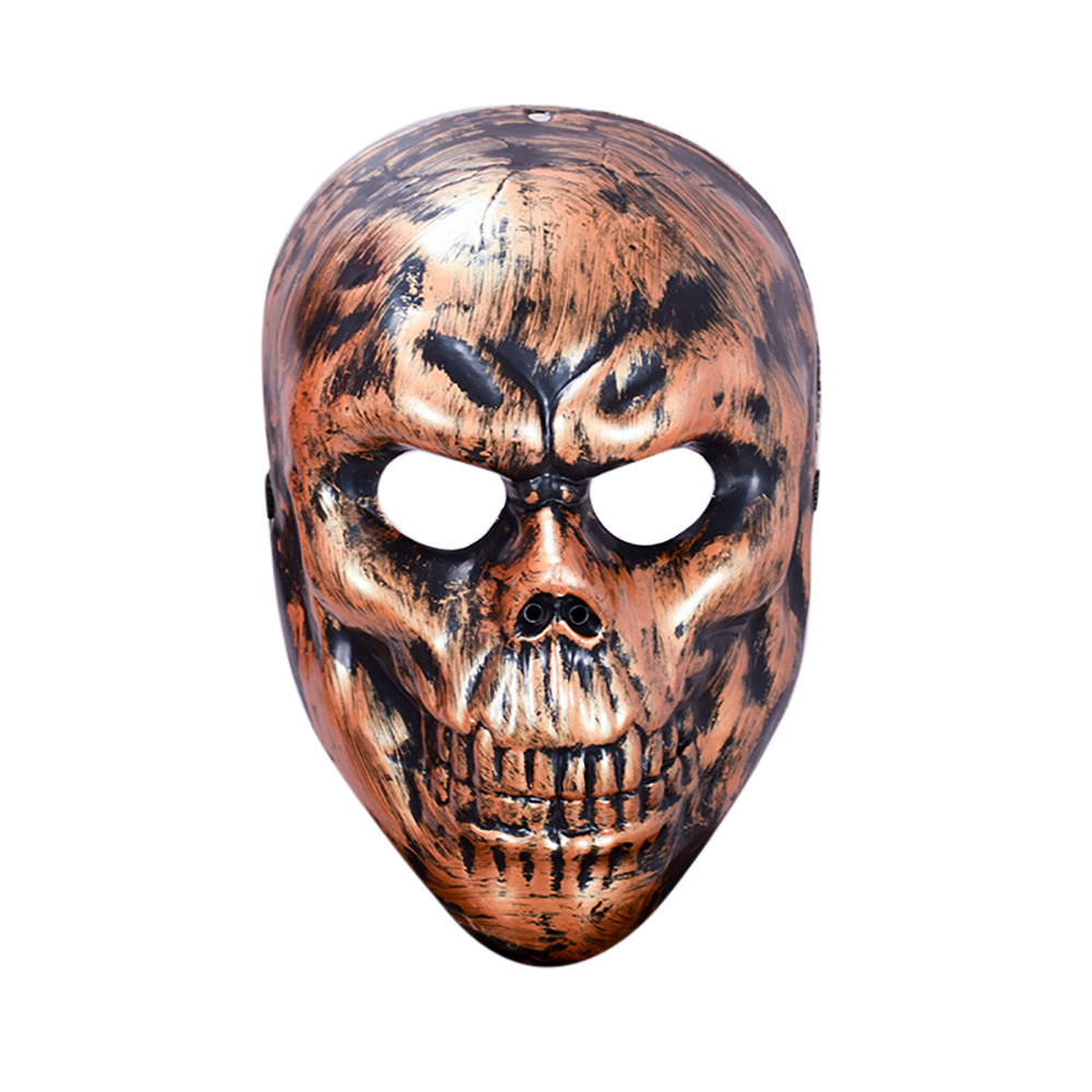TZ#5/22 New Halloween Party Mask Cosplay Skeleton Face Mask Terror Mask Head Mask Free Shipping monochrome