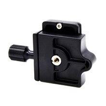 Профессиональный штатив для камеры монопод быстроразъемный Зажим адаптер алюминиевая пластина камеры аксессуары GT66