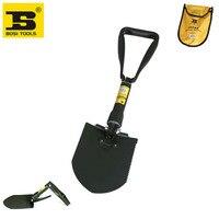 free shipping BOSI 23 manganese steel folding camping shovel spade