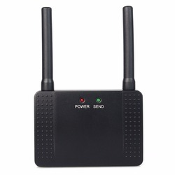 500mW RF Wireless Repeater Signal Amplifier Learning Code Extender for Call Button 433MHz F4408A