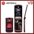 V9 Оригинальный Разблокирована Motorola RAZR2 V9 2.2 ''MP3 Плеер Восстановленное Мобильного Телефона Бесплатная Доставка