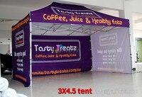 3x4.5 высокое качество Водонепроницаемый outdoor trade show Алюминий беседка, навес палатки