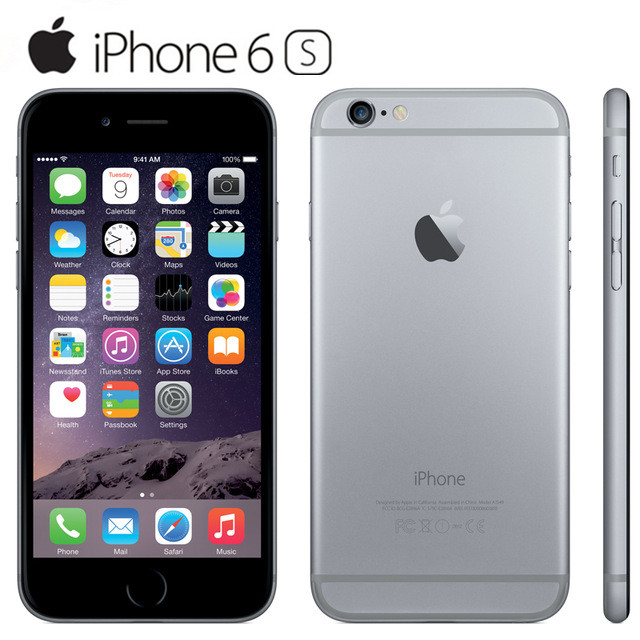 100% Original iPhone 6S Unlocked 4.7 Inch Dual Core 2GB ...