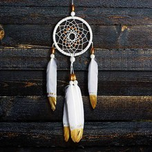 Dream Catcher Hand-painted dream catcher material hand-hung decoration holiday birthday gift fengling home girls gif