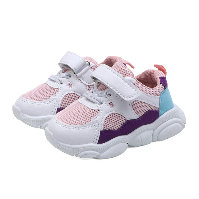 2019 Spring Baby Girls Boys Casual Shoes Infant Toddler Shoes Soft Bottom Non-slip Comfortable Shoes Kids Children Sneakers 4