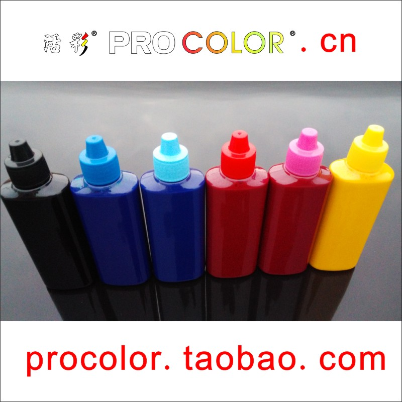 CISS refill ink Pigment ink refill kit for EPSON 1400 1500W PX650 PX660 PX700W PX710FW PX720WD PX730WD PX800FW PX810FW printer-in Ink Refill Kits from Computer & Office    3