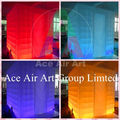 Wonderful Cube led inflatable Tent/Inflatable Trade Show House/ Inflatable Photo Booth