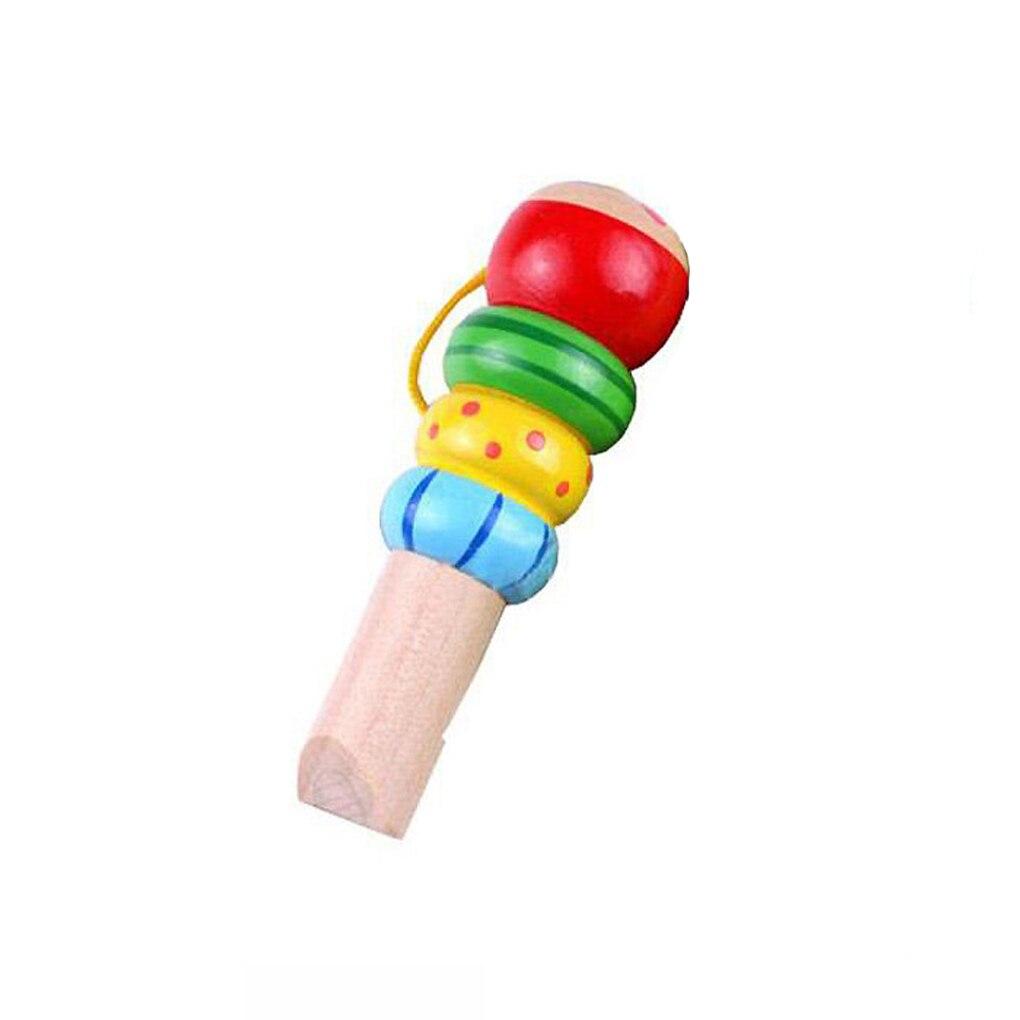 1 Pc Baby Kinder Holz Cartoon Tier Pfeife Spielzeug Pädagogisches Musik Instrument Spielzeug Sparen Sie 50-70%