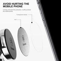 Baseus Phone Holder Metal Plate Disk For Magnetic Car Phone Holder iRon Sheet For Magnet Mobile Phone Holder Car Stand Mount