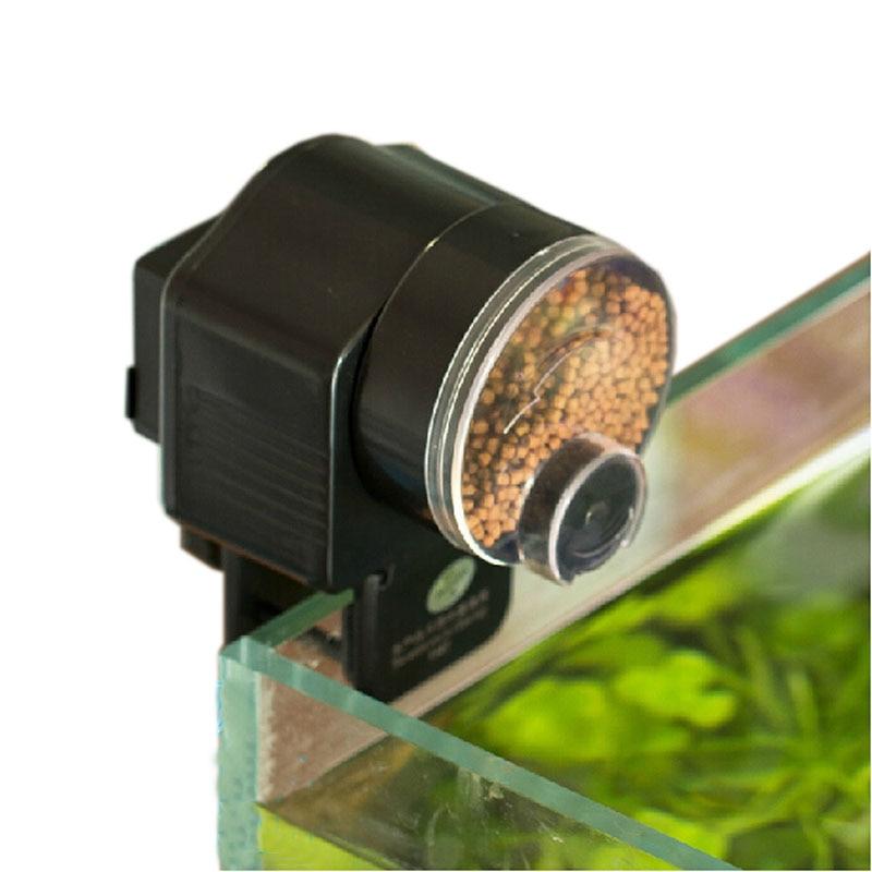 Automatic Fish Feeder for Aquarium Fish Tank Auto Feeder with Timer Pet Feeding Dispenser Fish Shrimp Betta Goldfish Food Feeder