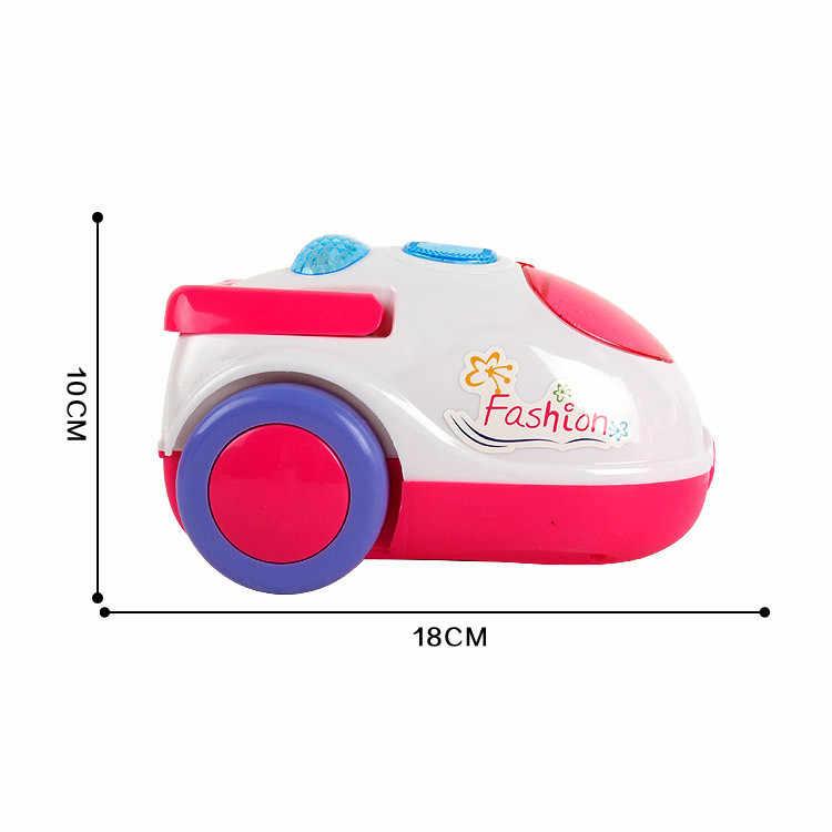 1 Pcs חדש העמד פנים שחק צעצוע שואב אבק צעצוע לילדים ניקיון ניקוי עגלת לשחק סט מיני לנקות עגלת לילדים FF4