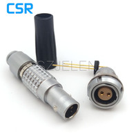 Compatible LEMO Connector FGG 0B 302 CLAD 52Z EPG 0B 302 CLL 9 Pin Plug And