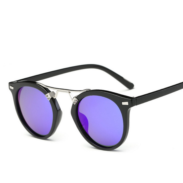 0595f9f6bd39 Real Polarized Vintage Women Sunglasses Mirrored Lens Designer Brand  Orignal Retro Round Sunglass Prescription Sun Glasses 8668