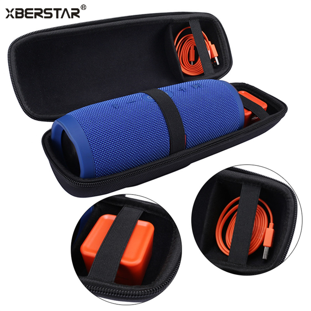 Case Bag for JBL Charger 3 Charge3 Portable Travel Carry Storage hard Holder Zipper Pouch Wireless Bluetooth Speaker and Charger